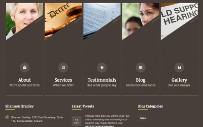 Tempe Attorney Launches New WordPress Website