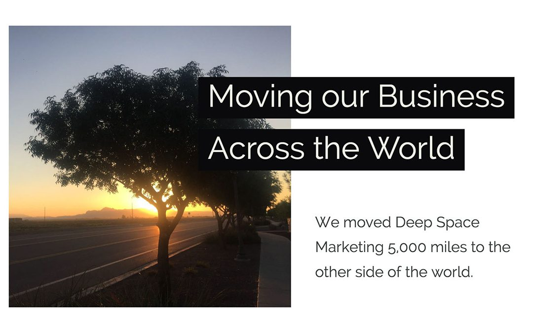 Deep Space Marketing Moves from the U.S. to the U.K.