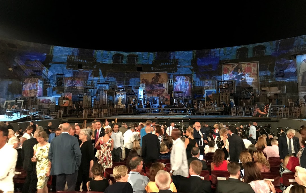 A Night at the Opera in Verona